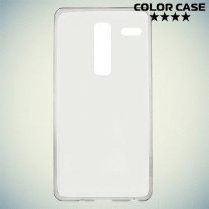 Тонкий силиконовый чехол для LG Class H650E - Серый