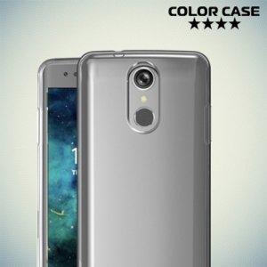 Тонкий силиконовый чехол для LG K8 2017 X300 - Прозрачный