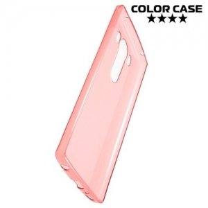 Тонкий силиконовый чехол для LG V10 - Красный