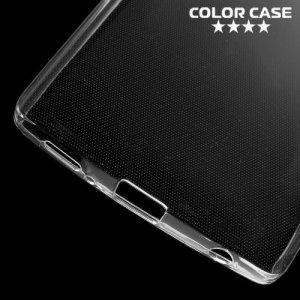 Тонкий силиконовый чехол для LG V10 - Прозрачный