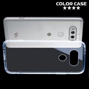 Тонкий силиконовый чехол для LG V20 - Прозрачный