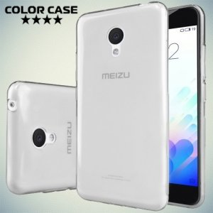 Тонкий силиконовый чехол для Meizu m3 mini / m3s mini - Серый