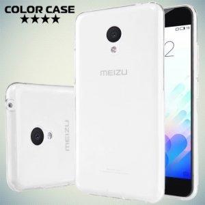 Тонкий силиконовый чехол для Meizu m3 mini / m3s mini - Прозрачный