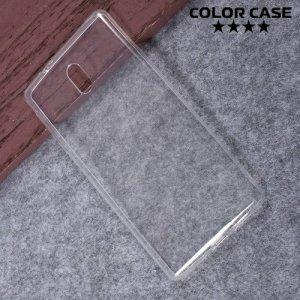 Тонкий силиконовый чехол для Nokia 3 - Прозрачный