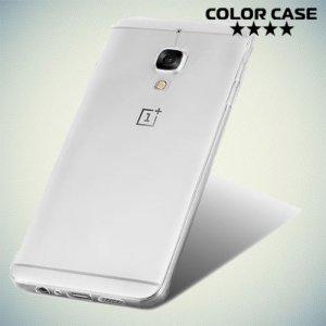 Тонкий силиконовый чехол для OnePlus 3 - Прозрачный