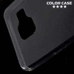 Тонкий силиконовый чехол для Samsung Galaxy A3 2016 SM-A310F - Серый