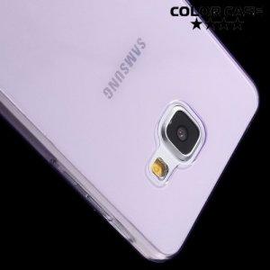 Тонкий силиконовый чехол для Samsung Galaxy A5 2016 SM-A510F - Фиолетовый