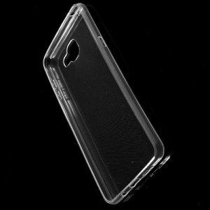 Тонкий силиконовый чехол для Samsung Galaxy A9 - Прозрачный