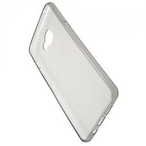 Тонкий силиконовый чехол для Samsung Galaxy A9 - Серый