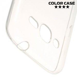 Тонкий силиконовый чехол для Samsung Galaxy J2 (2016)  - Прозрачный