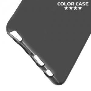 Тонкий силиконовый чехол для Samsung Galaxy Note 7 - Черный