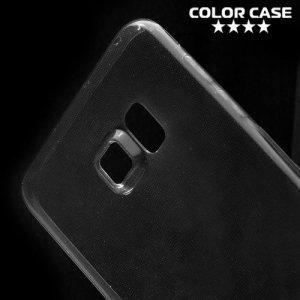 Тонкий силиконовый чехол для Samsung Galaxy S6 Edge Plus - Серый