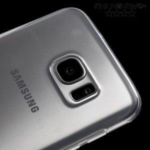 Силиконовый чехол для Samsung Galaxy S7 Edge - Прозрачный