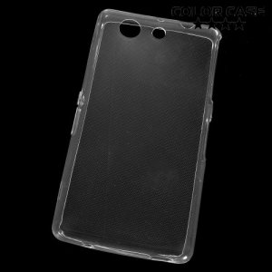 Тонкий силиконовый чехол для Sony Xperia Z3 Compact D5803 - Прозрачный