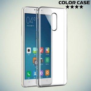 Тонкий силиконовый чехол для Xiaomi Redmi Note 4X - Прозрачный