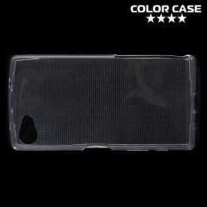 Тонкий силиконовый чехол для Sony Xperia Z5 Compact - Прозрачный