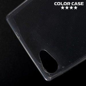 Тонкий силиконовый чехол для Sony Xperia Z5 Compact - Серый