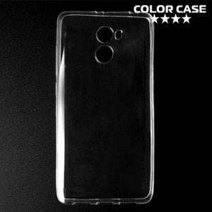 Тонкий силиконовый чехол для Xiaomi Redmi 4 - Прозрачный