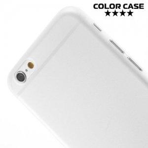 Ультратонкий кейс чехол для iPhone 6S / 6-Белый