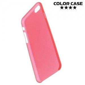 Ультратонкий кейс чехол для iPhone 6S / 6-Красный