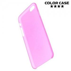 Ультратонкий кейс чехол для iPhone 6S / 6-Розовый
