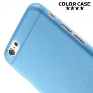 Ультратонкий кейс чехол для iPhone 6S / 6-Синий