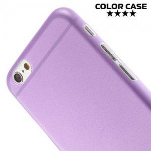 Ультратонкий кейс чехол для iPhone 6S / 6-Фиолетовый