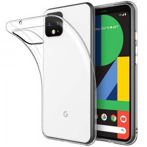 Ультратонкий прозрачный силиконовый чехол для Google Pixel 4 XL