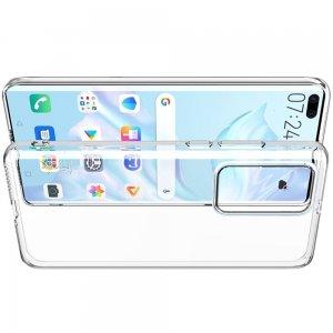 Ультратонкий прозрачный силиконовый чехол для Huawei P40 Pro