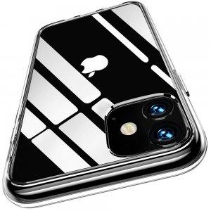 Ультратонкий прозрачный силиконовый чехол для iphone 11