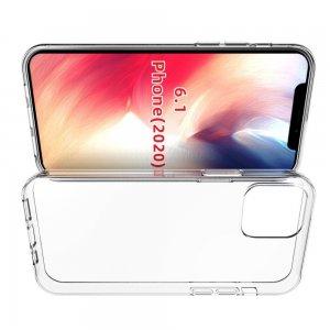 Ультратонкий прозрачный силиконовый чехол для iPhone 12/ 12 Pro 6.1