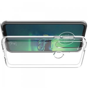 Прозрачный силиконовый чехол для Motorola Moto G8 Plus