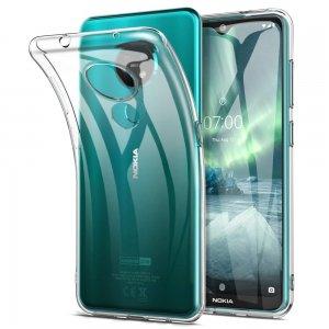 Ультратонкий прозрачный силиконовый чехол для Nokia 6.2 / 7.2