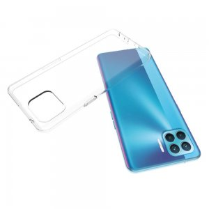 Ультратонкий прозрачный силиконовый чехол для OPPO Reno 4 Lite