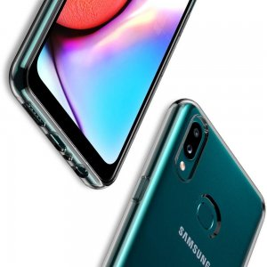 Ультратонкий прозрачный силиконовый чехол для Samsung Galaxy A10s