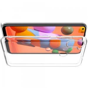 Ультратонкий прозрачный силиконовый чехол для Samsung Galaxy A11