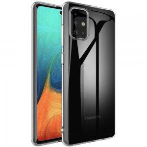 Ультратонкий прозрачный силиконовый чехол для Samsung Galaxy A71