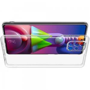 Ультратонкий прозрачный силиконовый чехол для Samsung Galaxy M51