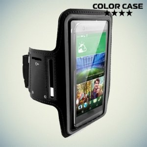 Чехол для бега на руку для смартфонов с диагональю до 5.5 дюймов ColorCase черный