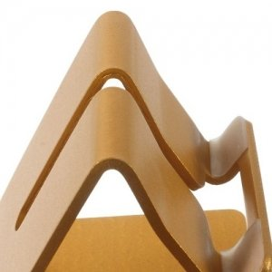 Универсальная настольная подставка для телефона алюминиевая - Золотая