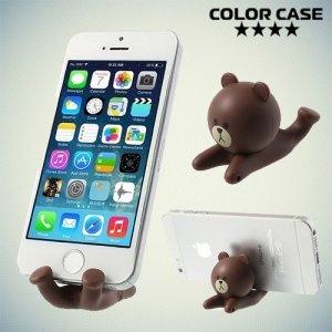 Универсальная подставка для телефона Мишка