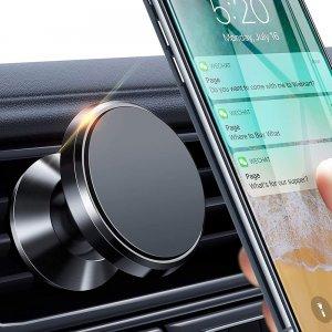 Держатель магнитный в автомобиль универсальный на воздуховод