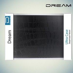 Универсальный чехол для планшета 8 дюймов Dream - крокодил черный