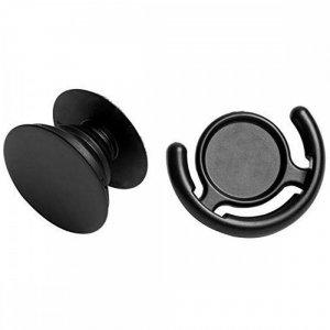 Универсальный держатель подставка Popsocket + автомобильный держатель Черный