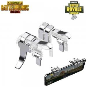 Универсальный игровой металлический триггер контроллер для мобильного телефона Fortnite Pubg Mobile