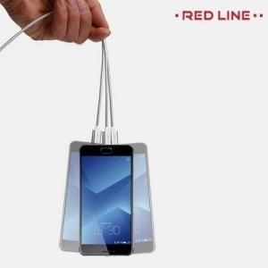 Универсальный магнитный кабель micro USB - Серебристый