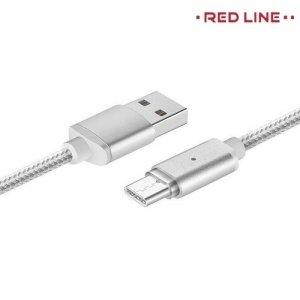 Универсальный магнитный кабель USB Type-C - Серебристый