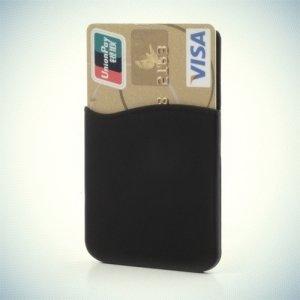 Универсальный силиконовый кармашек для карт на телефон