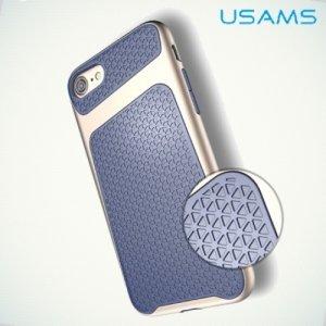 USAMS Knight Series Противоударный чехол для iPhone 8/7 – Синий