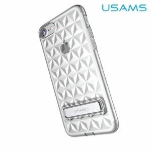 Usams Силиконовый чехол для iPhone 8/7 с орнаментом ромбики